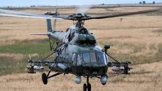 Вертолет Ми-8 кацна принудително в Коми