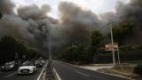 Жертвите на пожарите в Гърция вече са 91