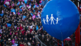 Стотици хиляди французи протестираха срещу еднополовите бракове