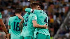 Валенсия - Реал (Мадрид) 0:3, гол на Модрич!