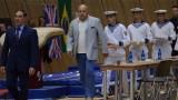 Министър Кралев награди призьорите от Световната купа по спортна гимнастика