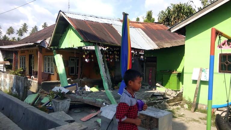 Агенцията по геофизика на Индонезия потвърди, че днешното земетресение на