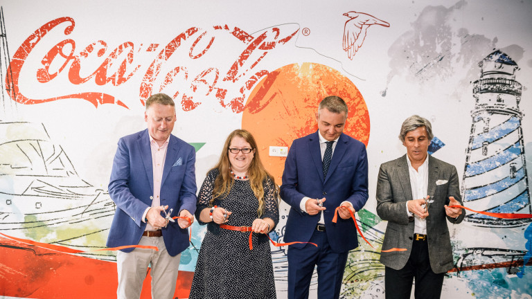 Coca-Cola European Partners (CCEP) откри новия си център за финансови