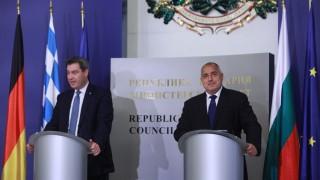 Борисов убеждава баварския премиер за нуждата от охрана на границите в ЕС