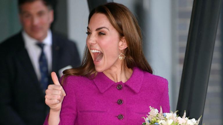 Когато Кейт е на първо място, а кралицата - на трето