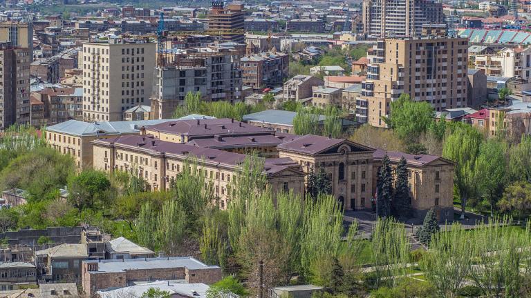 Арестуван е бивш президент на Армения