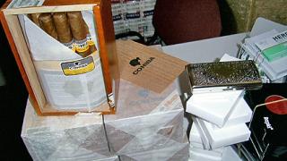 Заловиха контрабандни цигари на Калотина