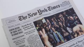 """""""Ню Йорк таймс"""" се опитвал да влияе във вътрешните работи на Китай, недоволства Пекин"""
