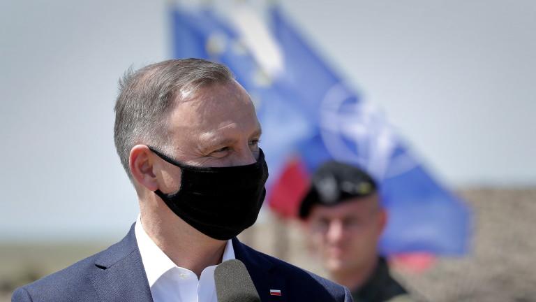 ВВС на Полша обясни съобщенията за отвличане на самолета