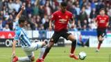 Хъдърсфийлд и Манчестър Юнайтед не се победиха - 1:1