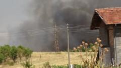 Продължава борбата с огъня в с. Петрово, локализирани са пожарите в Хисарско