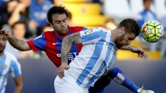 Малага и Хихон си вкараха 5 гола