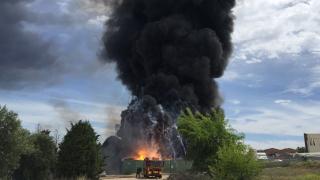 15 пострадали при пожар в химически завод в Испания