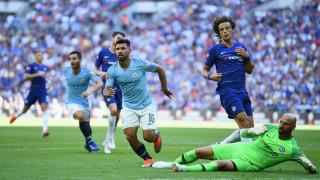 Манчестър Сити започна с трофей, занули Челси в дебюта на Сари