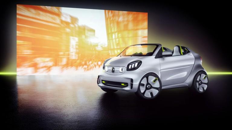 Daimler и Geely се обединиха, за да превърнат Smart колите в електрически