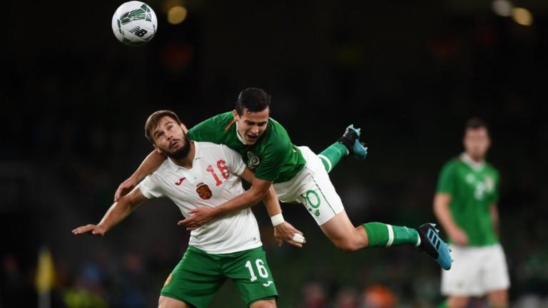 """България загуби от резервите на Ирландия в Дъблин, поредни 3 гола във вратата на """"лъвовете"""""""
