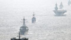 САЩ, Япония, Индия и Филипините предизвикват Китай с учения в Южнокитайско море