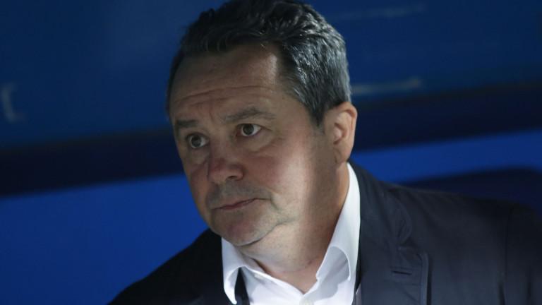 Славиша Стоянович: Няма да си търся алиби, ако нещата в Левски не вървят