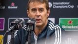 Лопетеги: Очаквам мач на лимита на възможностите срещу Атлетико