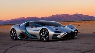 Суперавтомобилът на водород, който минава 1600 км с едно зареждане