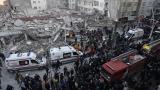 7-етажна сграда рухна в Истанбул