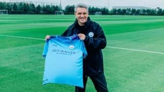 Манчестър Сити представи новият помощник на Пеп