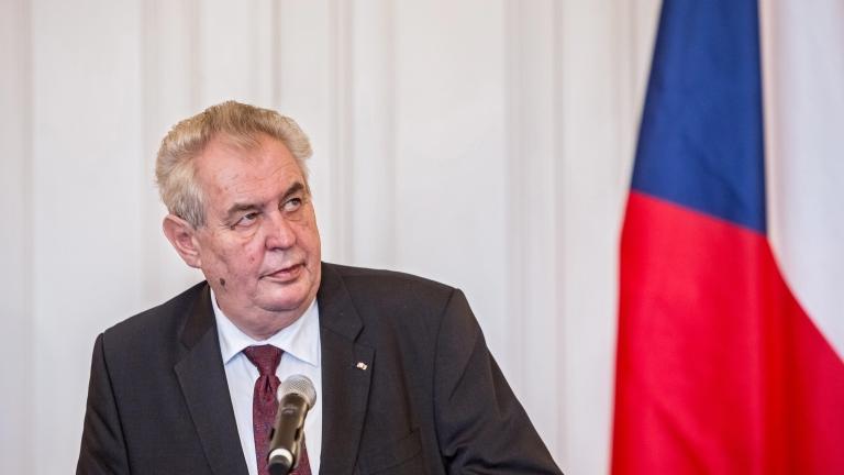 Чешкият президент призова НАТО да засили борбата срещу ислямския тероризъм
