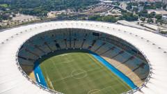 Легендарният стадион Маракана става полева болница
