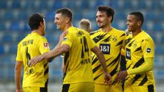 Борусия (Дортмунд) спечели гостуването си на Арминия (Билефелд) с 2:0