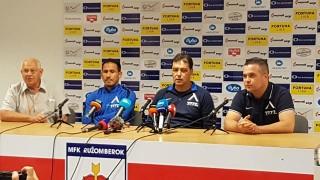 Хубчев: Радвам се, че не се отпуснахме и не получихме евтин гол
