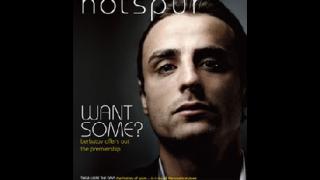 Бербатов на корицата на списанието на Тотнъм
