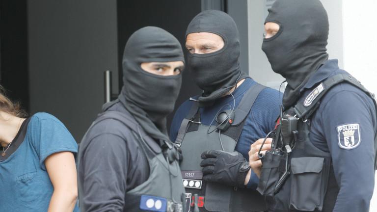 Германската полиция извършва акция срещу заподозрени за убийство на леви