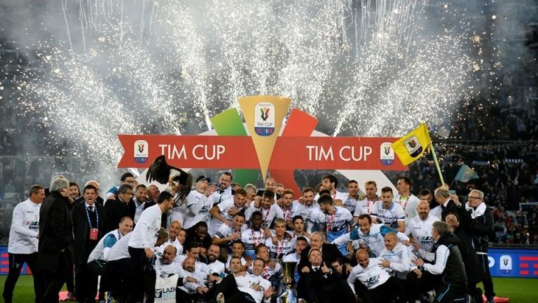От Левски поздравиха приятелите си в Лацио за спечелената Купа на Италия