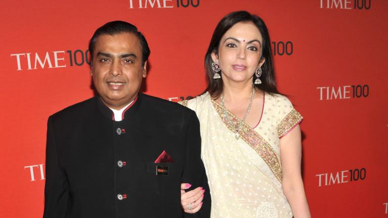 Индийският милиардер Мукеш Амбани, който управлява Jio Platforms, е успял