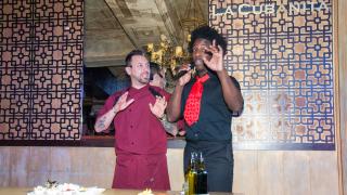 Лео Бианки и Алфредо Торес направиха кулинарно шоу