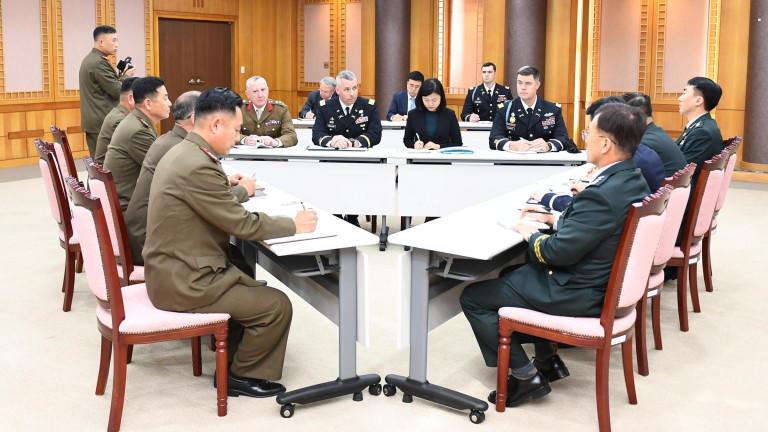 КНДР и Република Корея проведоха първите тристранни разговори с Командването
