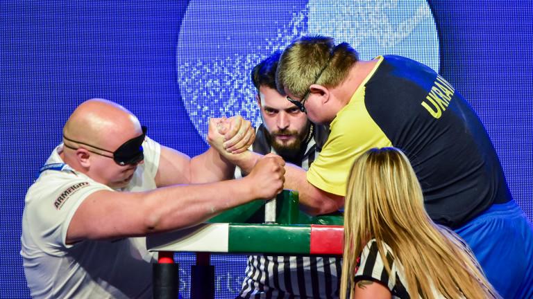 Шест медала за България спечели националният ни отбор за хора