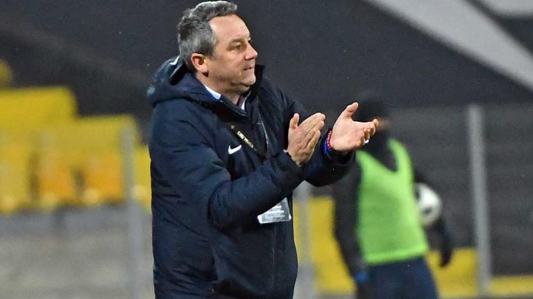 Славиша Стоянович е настоял пред ръководството на Левски да започне