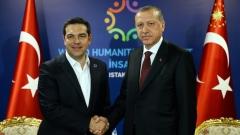 Ципрас и Ердоган обсъдиха Кипър и двустранните отношения