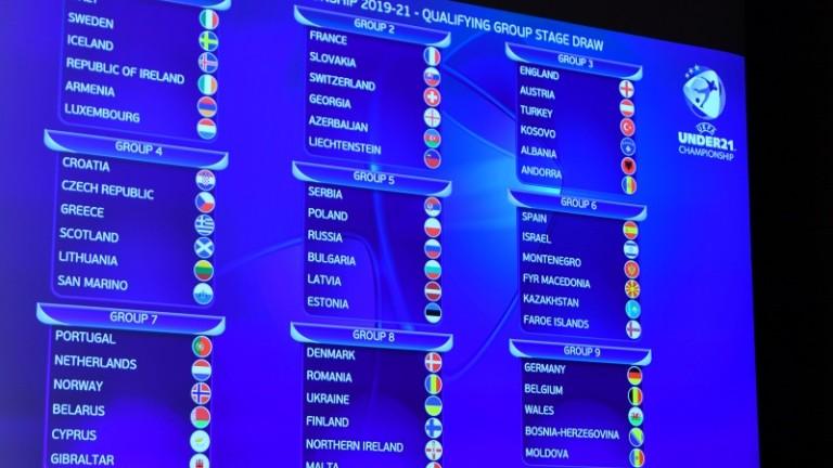Младежкият национален отбор по футбол попадна в група