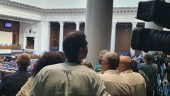 Журналисти искат достъп до депутатите в новата сграда на НС