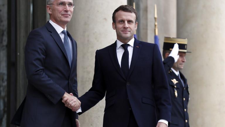 """Коментарът на Макрон за """"мозъчната смърт"""" на НАТО бил предупредителен сигнал"""