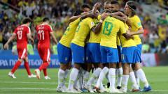 Без изненада: Бразилия прати Сърбия у дома - 2:0!