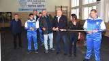 Министър Кралев откри обновената зала по щанги на Черно море