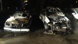 Разследват палежи на автомобили в два квартала в София