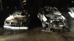 Полицията разследва палеж на два автомобила в Стамболийски