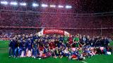 Барселона прегърна Купата на Краля след гладиаторска битка със Севиля (СНИМКИ + ВИДЕО)