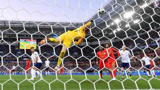 Англия - Белгия, 0:1 (Развой на срещата по минути)