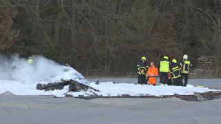 Публикуваха видео от авиокатастрофата в Германия