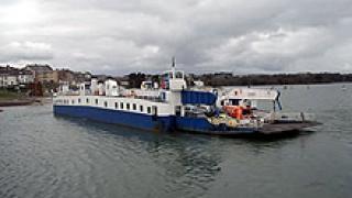 Изпитват ферибота между Никопол и Турну Мъгуреле